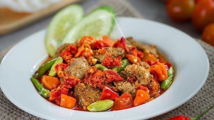Resep Oseng Mercon Jogja Pedasnya Bikin Nagih Di 2020 Daging Sapi Tumis Cabai Rawit