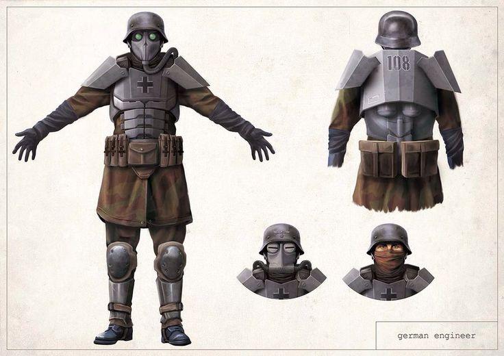 Paratrooper heavy
