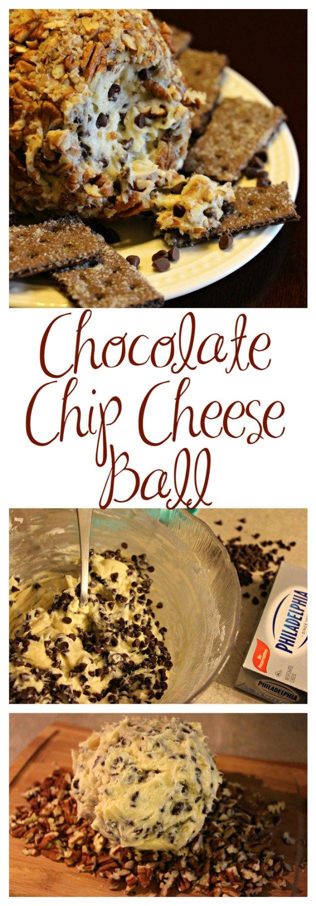 Chocolate Chip Cheese Ball Fiesta Corn Dip