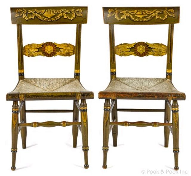 Paint Designs, Antique Furniture, Painted Furniture, Early American,  Empire, Villa, Furniture