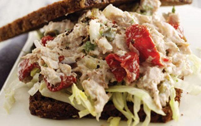 Sandwich med tuncreme - fit living