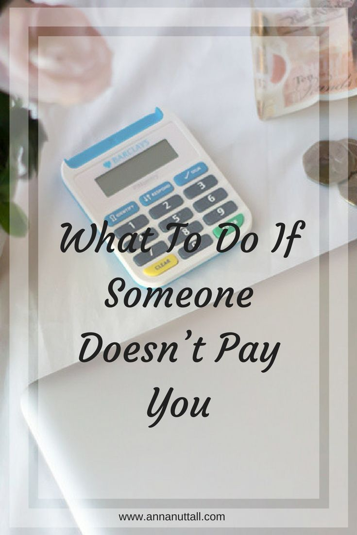 It's a problem all self-employed people have, not just bloggers.  When you did the work and haven't received payment for it. Here what to  do if someone doesn't pay you.