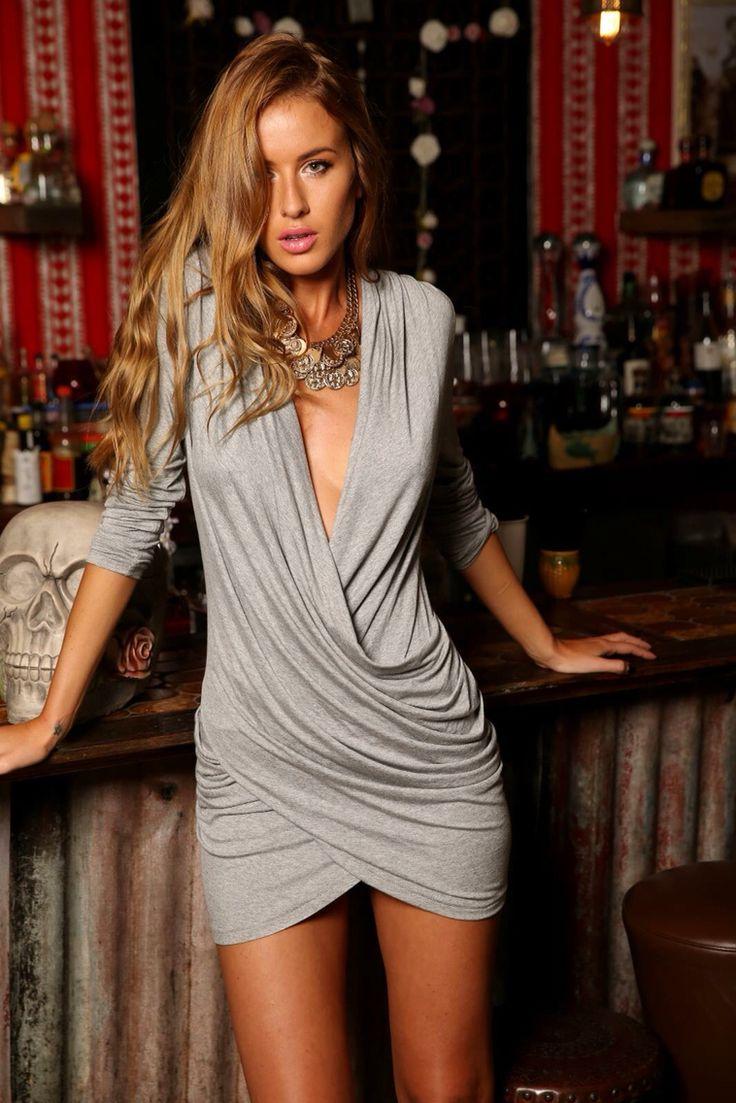 Heart Breaker Dress  Just Arrived!! www.appletreeboutique.com.au #dress #grey #online #shopping