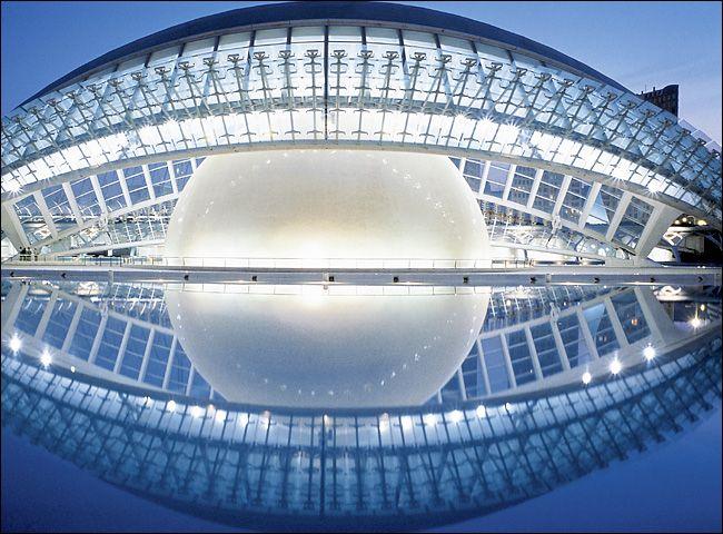 Santiago Calatrava || Hemisferic, Ciudad de las Artes y las Ciencias (Valencia…