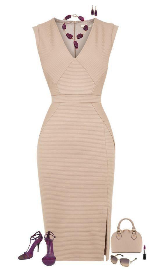 Платье-футляр: обязательный элемент гардероба