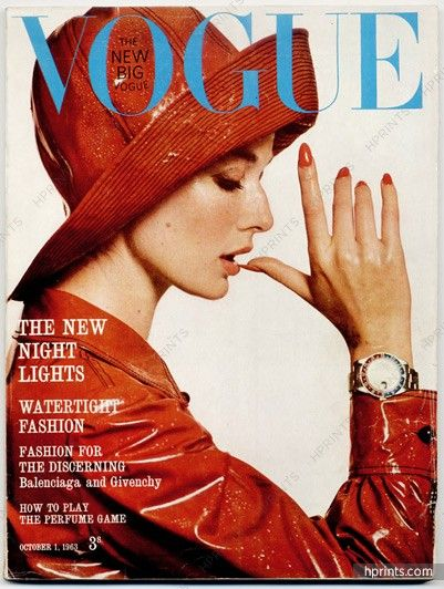 Photo by Brian Duffy, Vogue UK, October 1963*