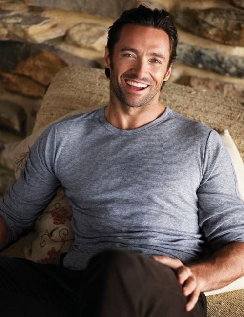 Hugh Jackman, a truly versatile actor who happens to be jaw-dropping handsome.