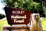 Nicolet National Forest, Northern Wisconsin. Camping with my family at Morgan Lake!