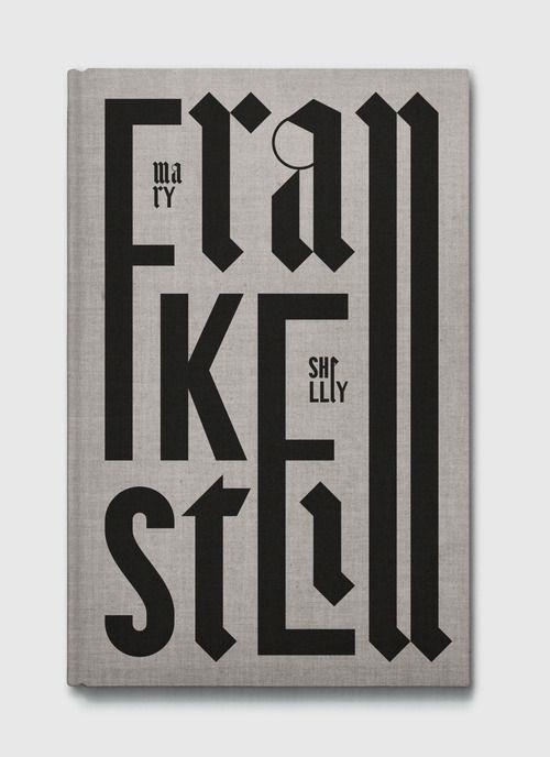 Frankestein book cover by Maciej Ratajski