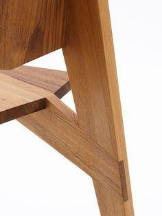 Mobilier, détail assemblage bois.