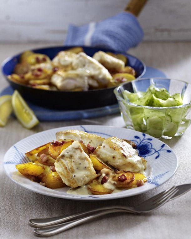 Unser beliebtes Rezept für Hamburger Pannfisch mit Gurkensalat und mehr als 55.000 weitere kostenlose Rezepte auf LECKER.de.