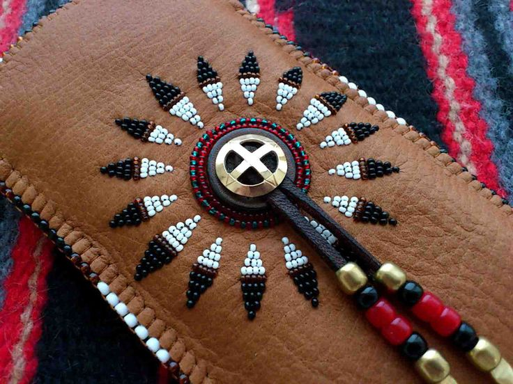 Beaded Smartphone Pouch