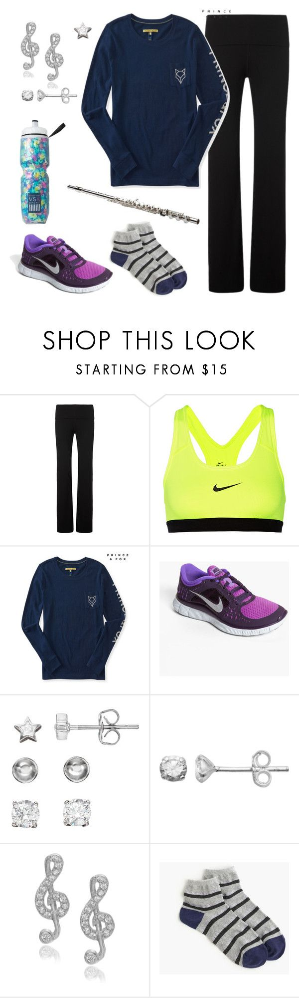 """""""BEST MARCHING BAND REHEARSAL EVER!!!!"""" by fanficqueen13 ❤ liked on Polyvore featuring Sweaty Betty, NIKE, Aéropostale, Itsy Bitsy, Journee Collection, J.Crew and Victoria's Secret"""
