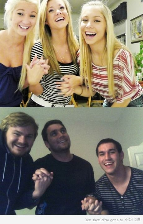 Boys should always retake girl pictures.