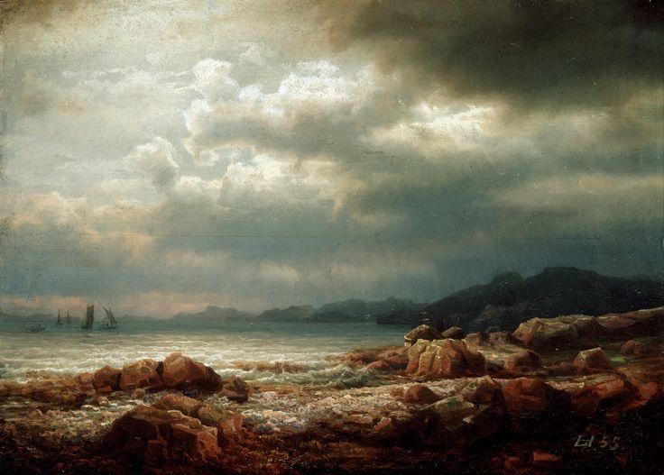Lars_Hertervig_-_Coastal_Landscape_-_Google_Art_Project.jpg (6573×4709)