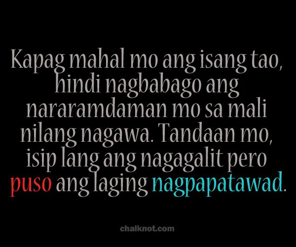 Quotes About Love At First Sight Tagalog : ... about quotes on Pinterest Tagalog quotes, Quotes about and Tao