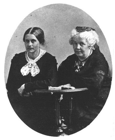 the fight of elizabeth stanton and susan anthony for equal rights for women Narrator: in the 1850s, susan b anthony, elizabeth cady stanton, and lucy stone led a group of courageous women who plunged headlong into the fight for abolition and universal suffrage they formed the american equal rights association.