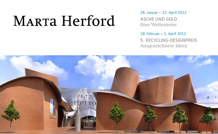 Marta Museum in Herford by Frank Gehry