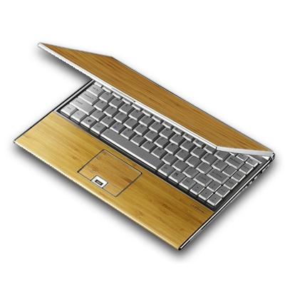 Less Plastic: Bamboo Laptop so you can work & play the green way