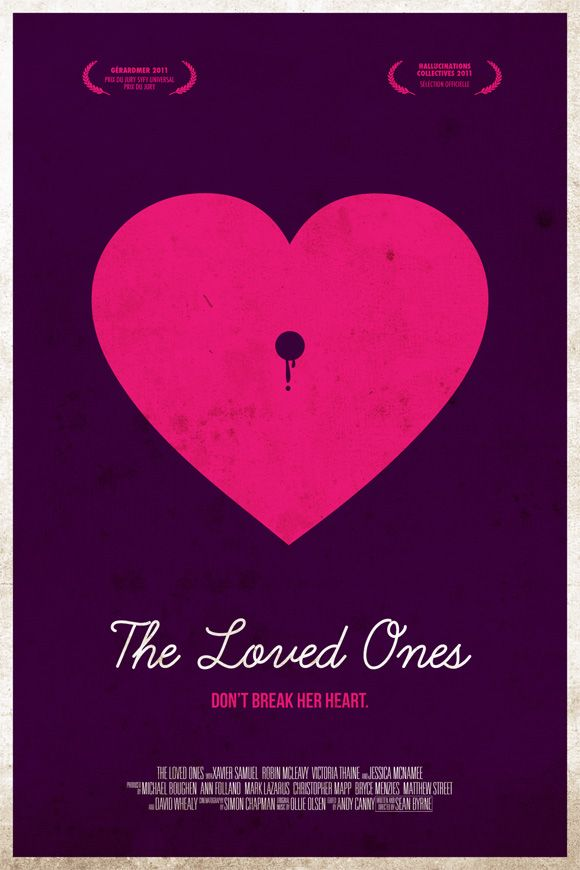 Risultati immagini per the loved ones movie poster
