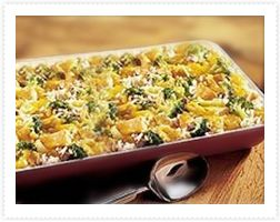 Turkey Broccoli and Rice Bake