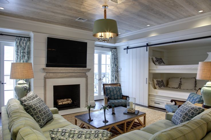 Douglas VanderHorn Architects | Recreation Room in a Shingle Style Home