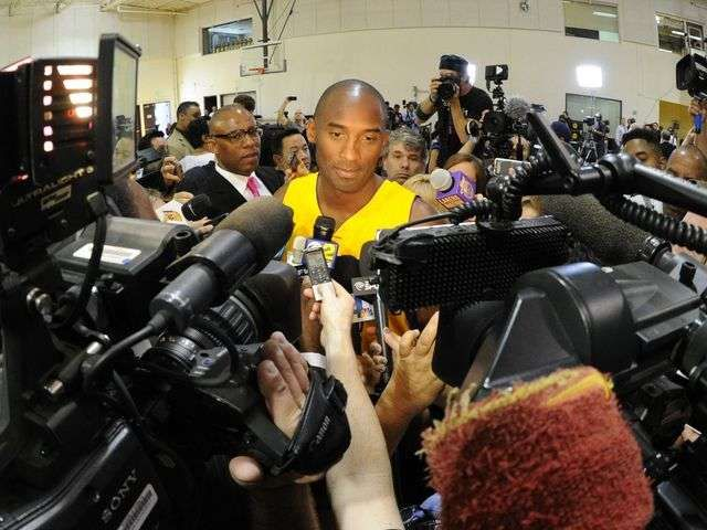 Kobe Bryant in Germany for blood platelet therapy via @Jill Meyers Jackson Norris TODAY