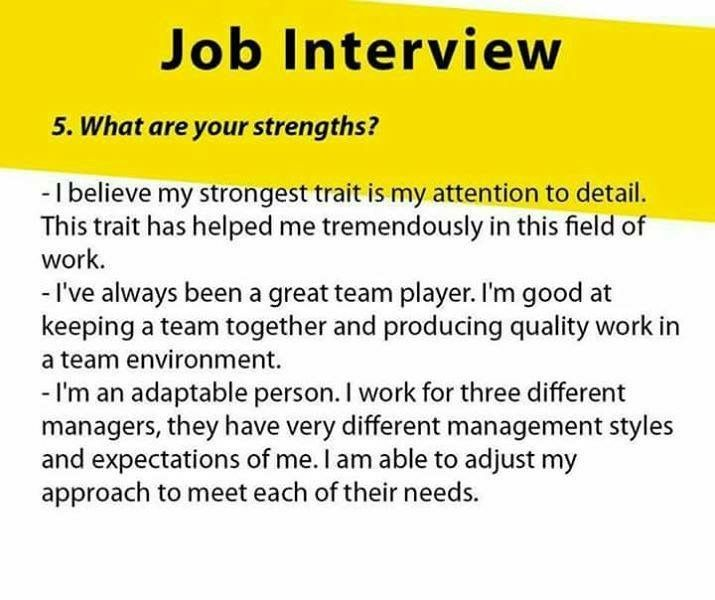 Job Interview Emphasize Your Positive Traits In Relation To How They Will Benefit A Potent Job Interview Answers Job Interview Advice Job Interview Questions
