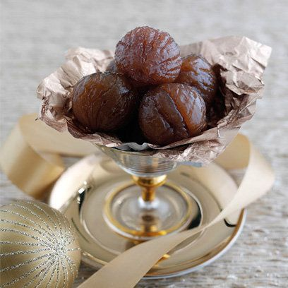 Candied chestnuts | Easy Christmas recipes | Red Online