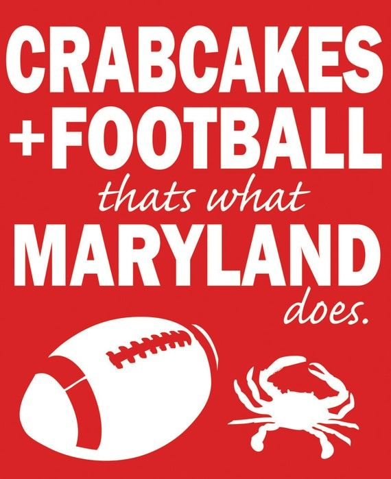 36 best maryland art and prints images on pinterest maryland its what we do crabcakesandfootball maryland solutioingenieria Images