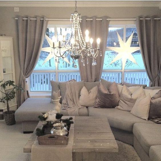 die 25+ besten ideen zu gardinen wohnzimmer auf pinterest ... - Wohnzimmer Ideen Vorhange