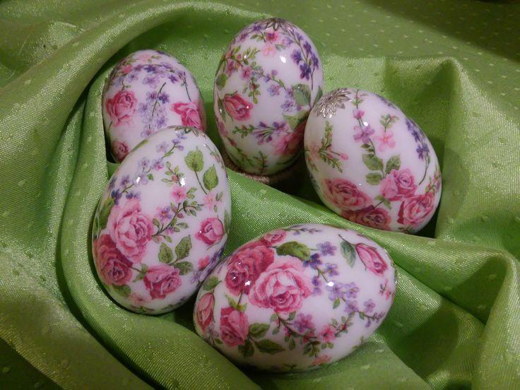 Wielkanocne pisanki własnoręcznie wykonane