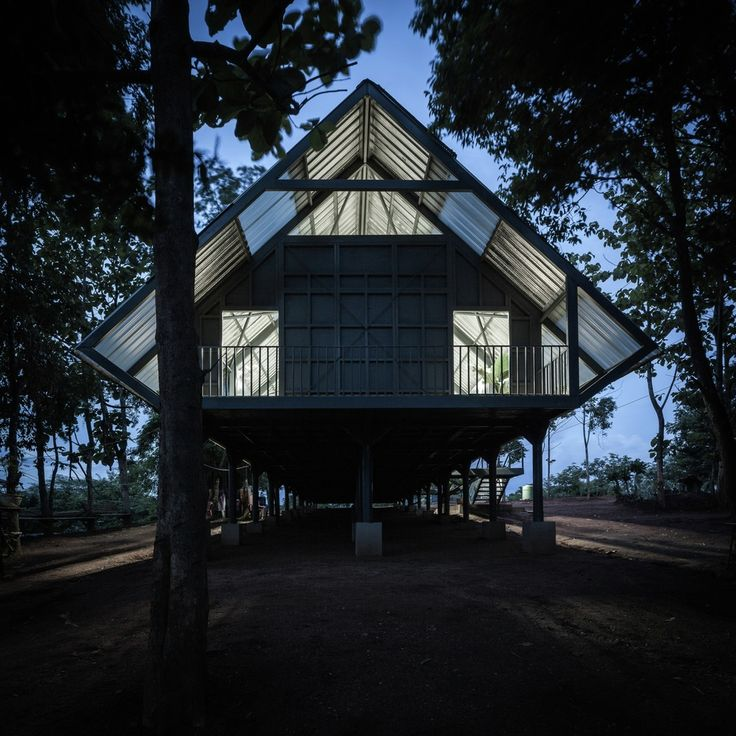 Gallery - Bann Huay San Yaw- Post Disaster School / Vin Varavarn Architects - 14