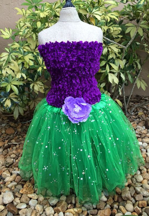 Little Mermaid Tutu Little Mermaid Costume by partiesandfun