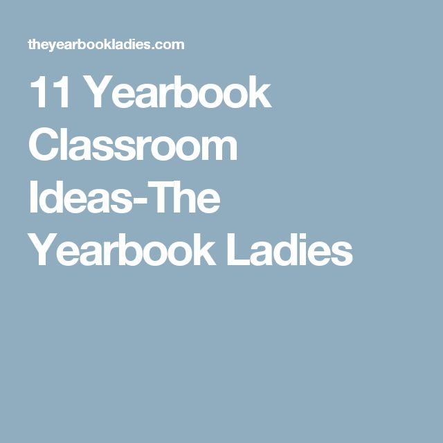 11 Yearbook Classroom Ideas-The Yearbook Ladies