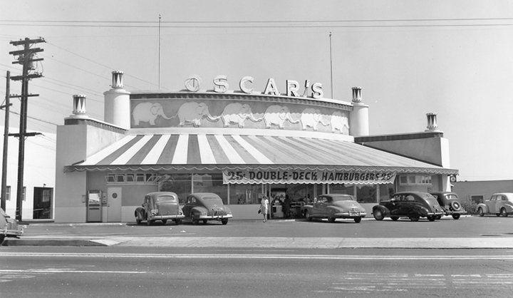 Oscars Drive-In Restaurant. SE Corner of El Cajon Blvd ...