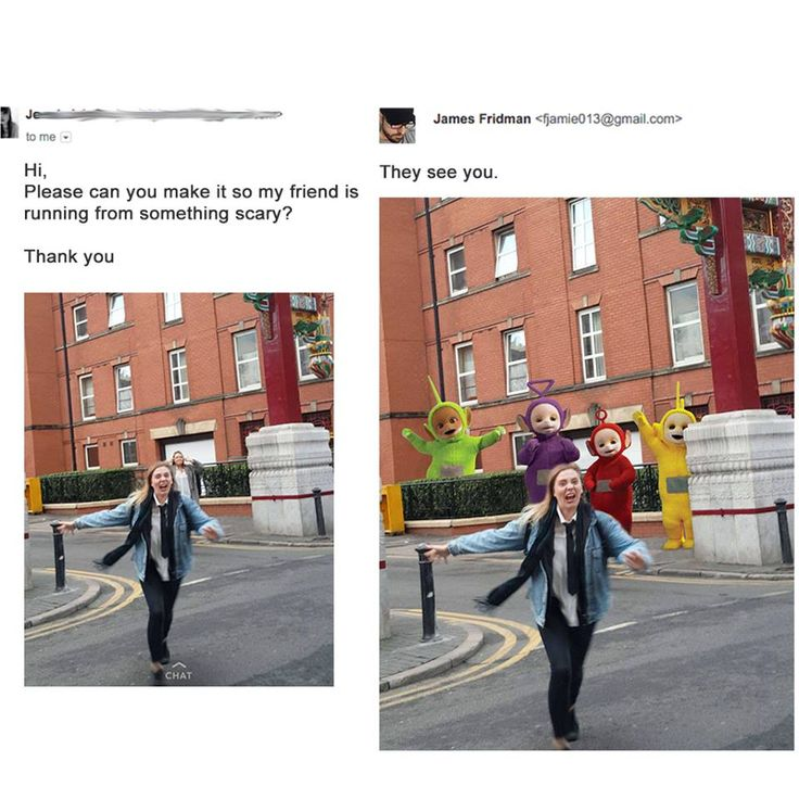 James Fridman who amused the internet by taking Twitter users' Photoshop requests VERY literally releases another batch of hilariously-edited pictures - Imgur