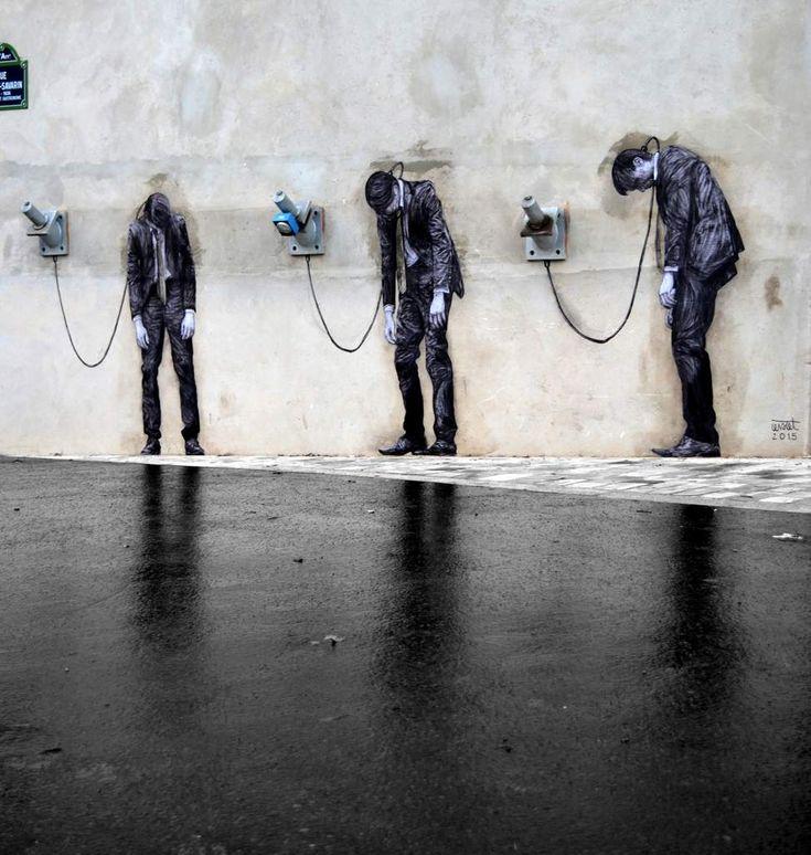 levalet-street-art-12 - La boite verte