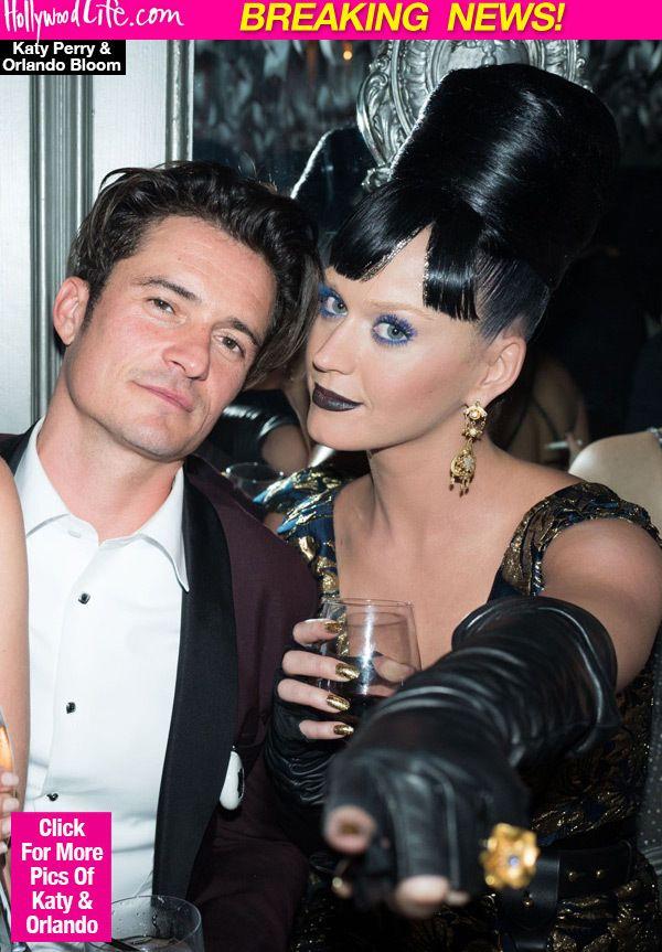 Katy Perry & Orlando Bloom Engaged?: Rocks Huge Diamond On Ring Finger —Pics