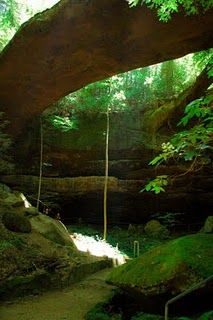 Natural Bridge, Alabama -Only 1.5 hrs from Madison, AL....great trip for hiking adventure w/ kids.