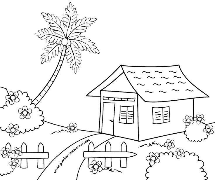 6000 Koleksi Gambar Rumah Sederhana Kartun Terbaik