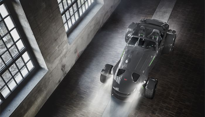 Donkervoort D8 GTO Bare Naked Carbon Edition | View from above
