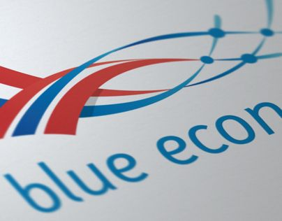 Blue Economy - Logo Design http://on.be.net/12Fo9jn