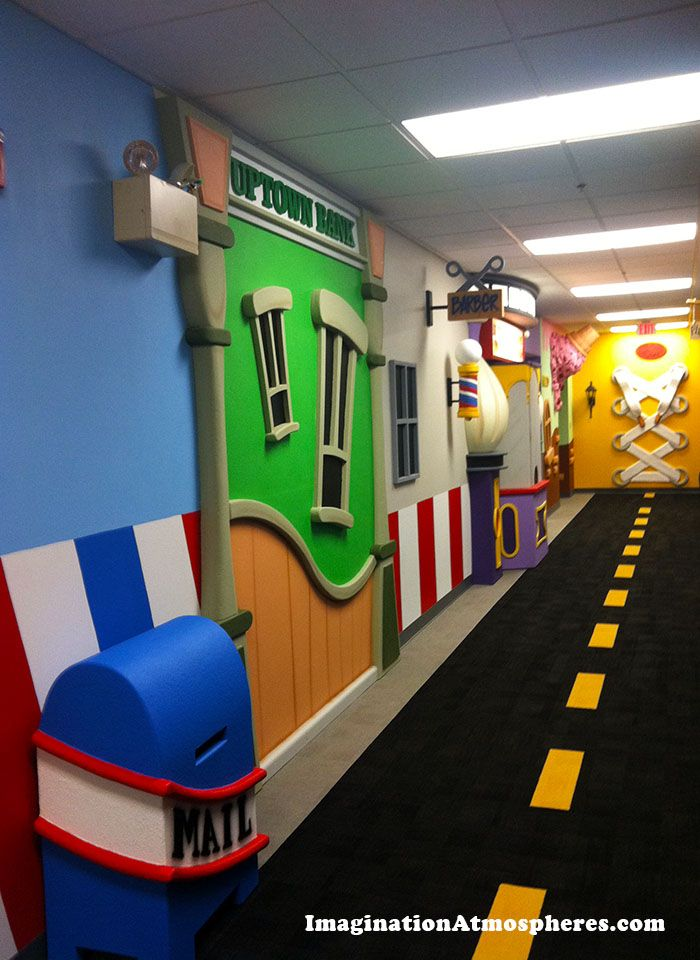 Childrens Hallway Theme For CenterPoint Church Concord