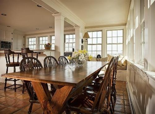 dining with natural light