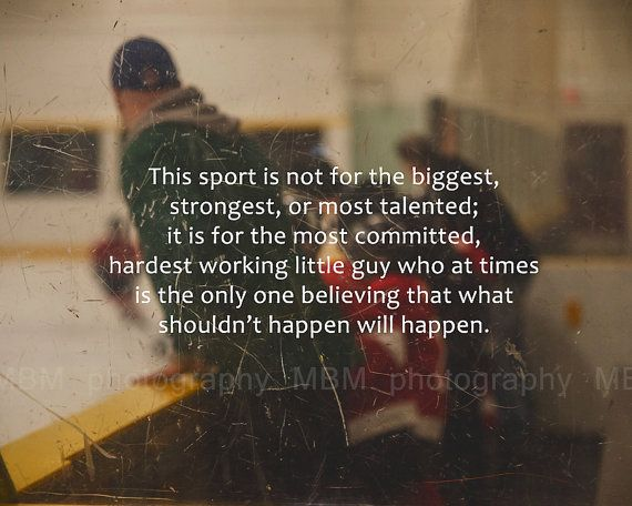 Hardest Working Hockey Print 8x10 by SportyPrintsbyMBM on Etsy