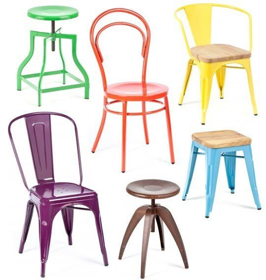 Industry West Colorful And Totally Affordable Metal Dining Chairs And Stools Store Profile