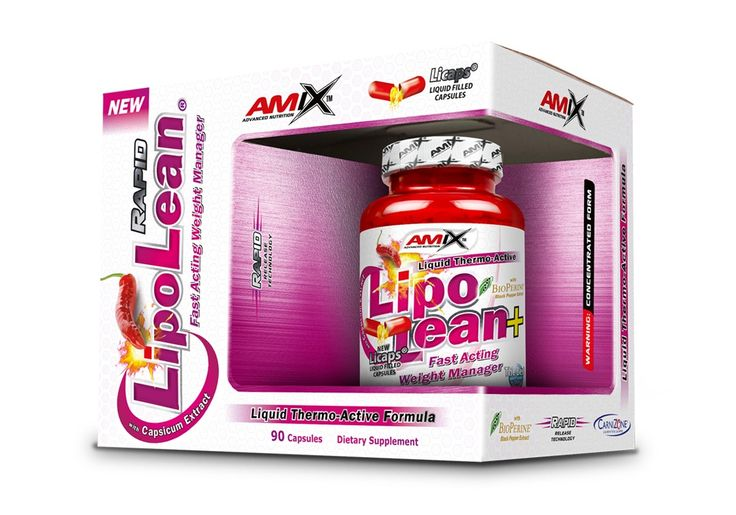 Amix™ LipoLean® představuje ideální produkt pro muže i ženy, kteří chtějí zvítězit v boji proti tělesnému tuku. Díky svojí převratné technologii tekutých kapslí dosahuje Amix™ LipoLean® vynikající absorpce a velmi rychlých výsledků.