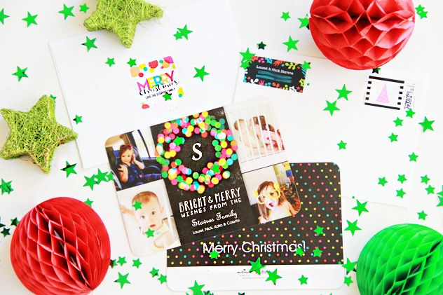 A Bubbly Life: Shutterfly Christmas Cards Perfectly Personal™ || Find a collection that matches your style for the holiday season.