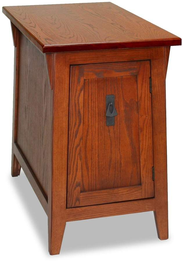 Leick Furniture Mission Cabinet End Table In 2019